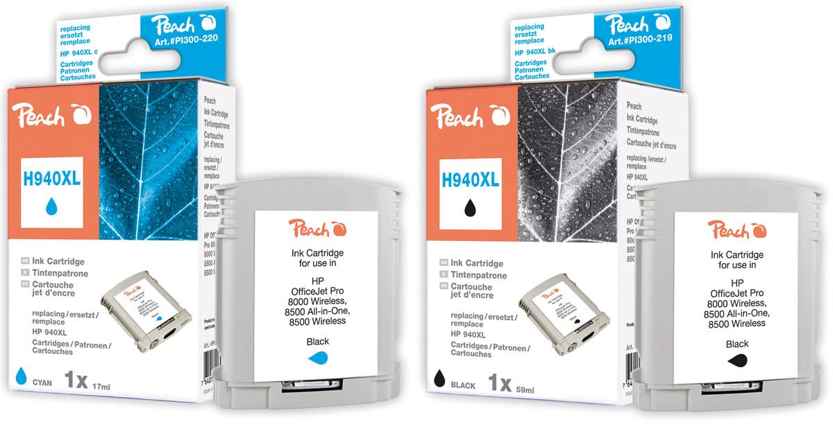 Alternative HP 940 Tintenpatronen Peach